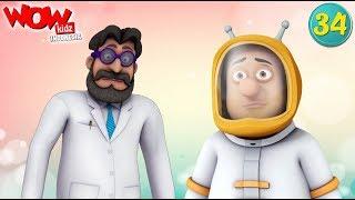 Kisah Anak-Anak | Chacha Bhatija | animasi indonesia | Kartun Lucu | Perjalanan Ke Bulan