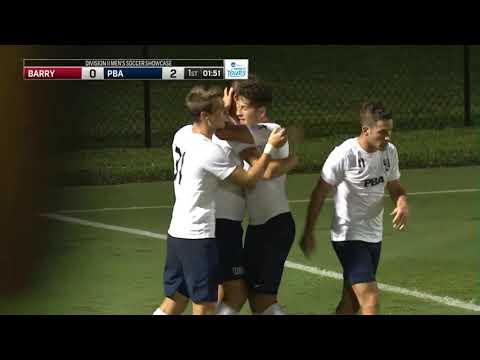 Men's Soccer Highlight Vs Barry University 10-5-19
