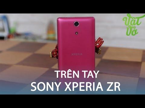Vật Vờ| Trên tay smartphone 3 năm về trước Sony Xperia ZR
