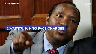NHIF ROT!, CS Magoha's tough exam rules, Waititu, wife and daughter to be charged