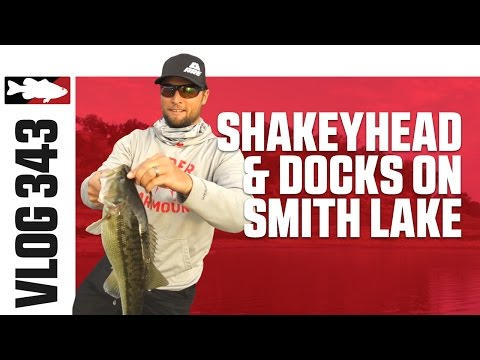 Fishing Shakey Heads & Docks On Smith Lake With Justin Lucas  - VLOG #343