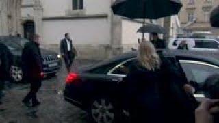 German Chancellor meets Croatia's Prime Minister
