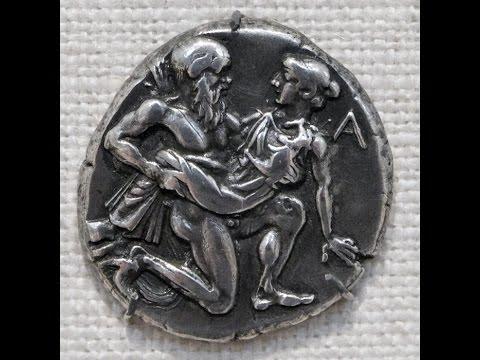 Arkhilokhus (Archilochus, Αρχίλοχος), fragment 128 (Reconstructed Ancient Greek)