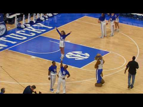 Kentucky Cheer- Stunt Competition