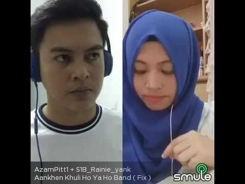 Aankhen khuli ho ya ho band cover Azam feat Reny