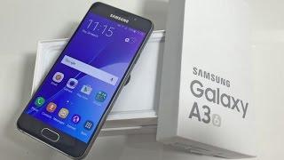 Распаковка Samsung Galaxy A3(Только распаковал и вклучил. Ну вообщем посмотрел что за телефон, моё мнениее телефон хороший за такии день..., 2016-08-14T10:34:17.000Z)