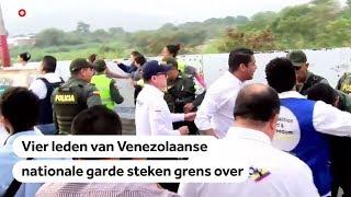 VENEZUELA: Spanning loopt snel op aan grens tussen Venezuela en Colombia
