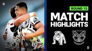 Bulldogs v Warriors | Round 15 2020 | Telstra Premiership | NRL