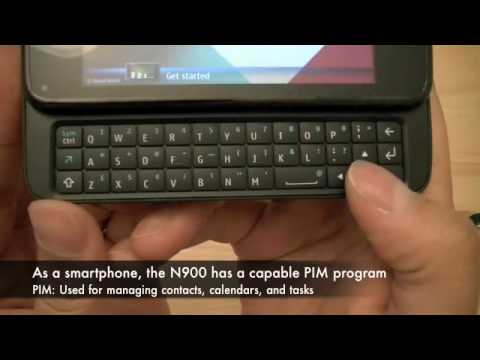 Nokia N900 with Maemo 5: Quick Tour