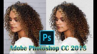 របៀបកាត់សក់តាម Photoshop CC 2018 - Hair Cut in Adobe Photoshop CC 2018 - easy to hair cut - Tutorial