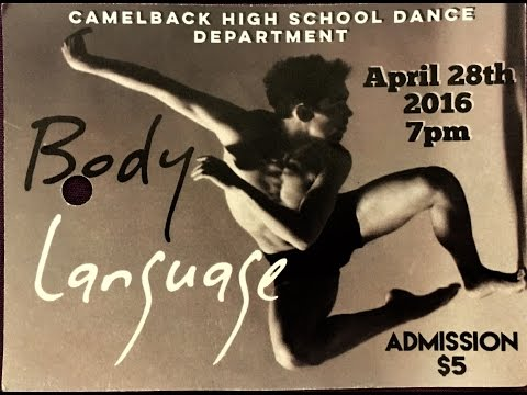 CAMELBACK HIGH SCHOOL DANCE DEPARTMENT APRIL 28TH 2016