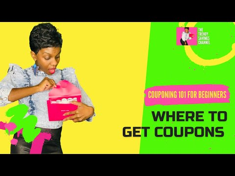 Where to Get Coupons for Extreme Couponing (How To Coupon 2021)