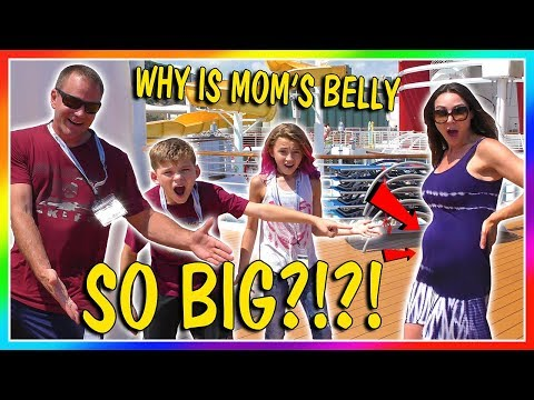 WHY IS MOM'S BELLY SO BIG?!?! | WHERE ARE WE NOW? | We Are The Davises