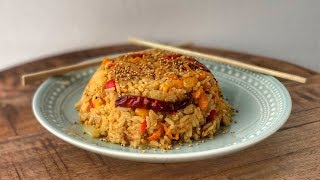Жареный Рис с Яйцом и Овощами | Рис по-азиатски | Рецепт | Знаем что готовить!