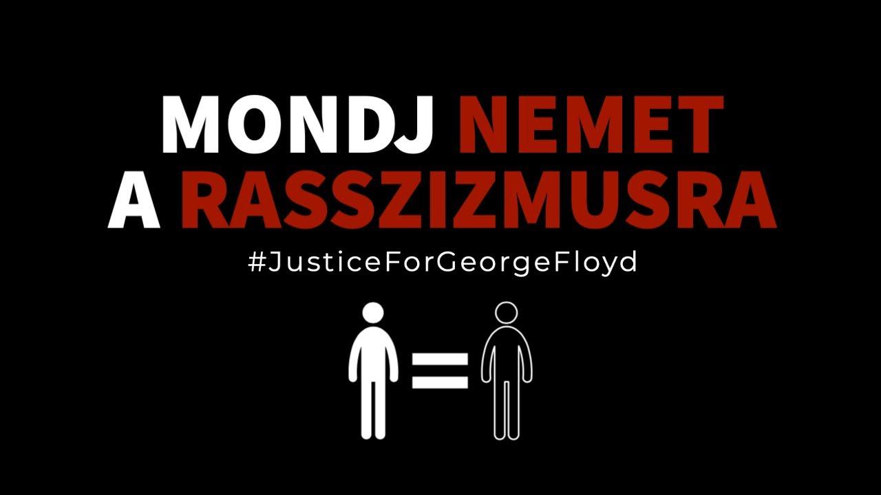 MONDJ NEMET A RASSZIZMUSRA! - #JusticeForGeorgeFloyd | De Re Luigi