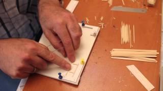 Minyatür sandalye nasıl yapılır?