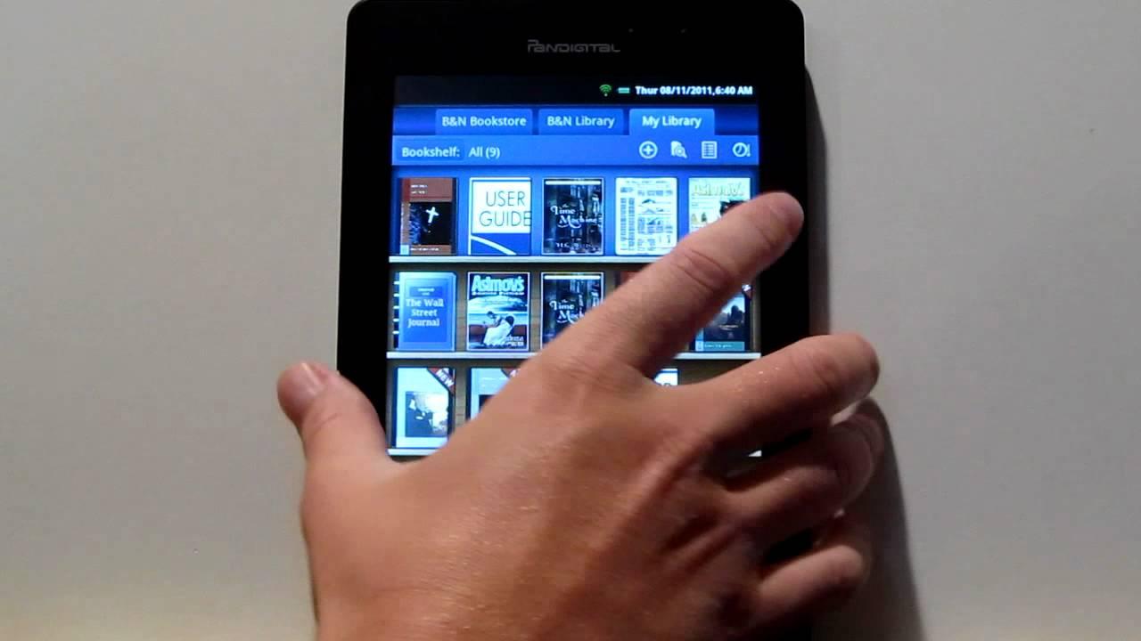 pandigital nova tablet review and tutorial youtube rh youtube com Pandigital User Manual Pandigital Star