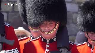 Un error puso en aprietos a un escuadrón de la Guardia Real británica