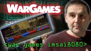 """War Games"" IMSAI 8080 - Computerphile"