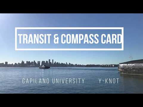 Capilano University - Transit & Compass Card 2017