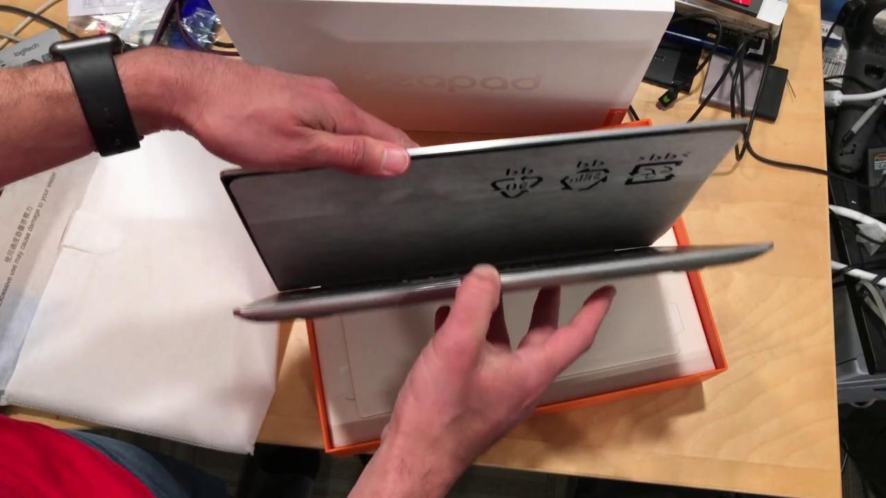 Lenovo Ideapad 720s 14 with GPU Unboxing
