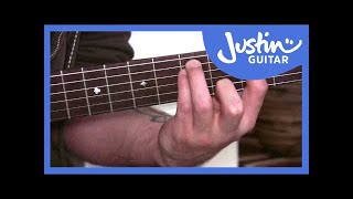 power chords 1 (guitar lesson bc-172) guitar for beginners stage 7