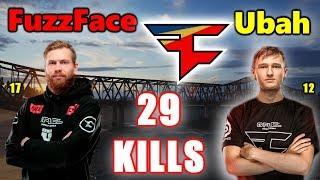 PUBG - Faze FuzzFace & Ubah - 29 KILLS - PRO PLAYS - DUO vs SQUADS
