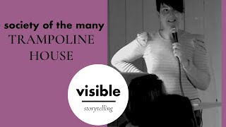 Visible Storytelling S1EP9: Society Of the Many  - Trampoline House with Tone Olaf Nielsen