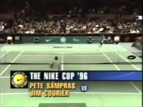 McEnroe vs Sampras vs Agassi vs Courier - The Nike Cup 96
