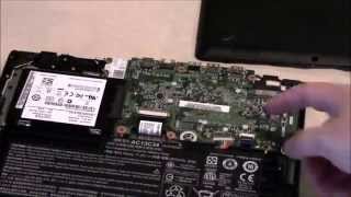 Acer E11 ES1-111M-P2YU Overview and Disassembly