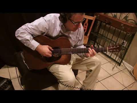 "Jerome Chapman playing   ""Black Waterside"" by Bert Jansch 12 20 17 Song #1 Version#3"