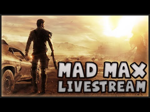 MAD MAX - WITNESS ME STREAMING LIVE