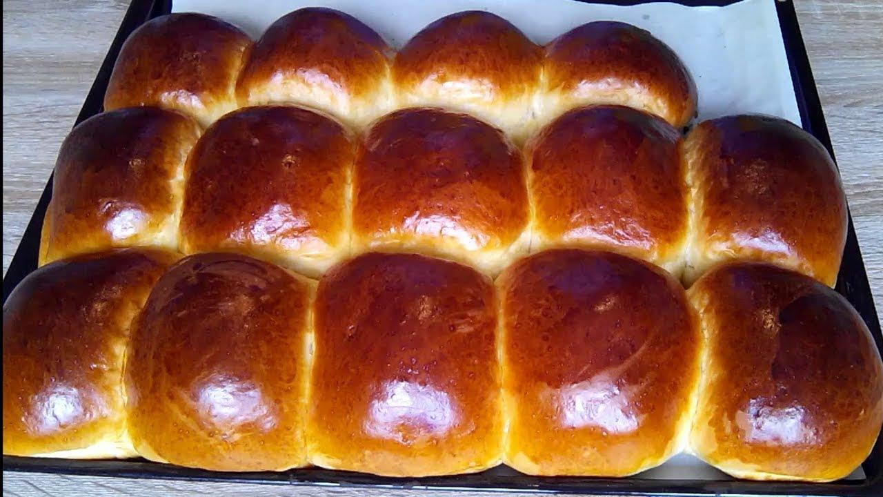 Сдобные домашние булочки, необычайно мягкие и пушистые. / Soft and fluffy buns! - YouTube