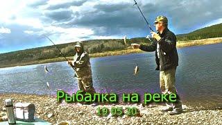 Рыбалка на реке Лена 19 05 20