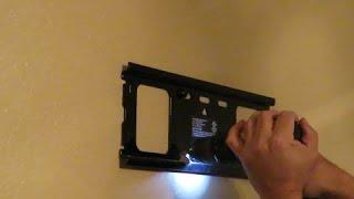Como instalar el soporte de un televisor en una pared - Wall mount tv