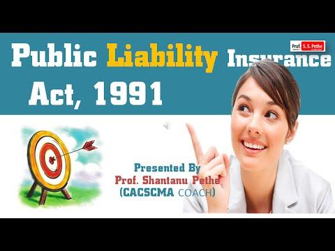 ECL = Public Liability Insurance Act 1991 (For JUN/DEC 2016)