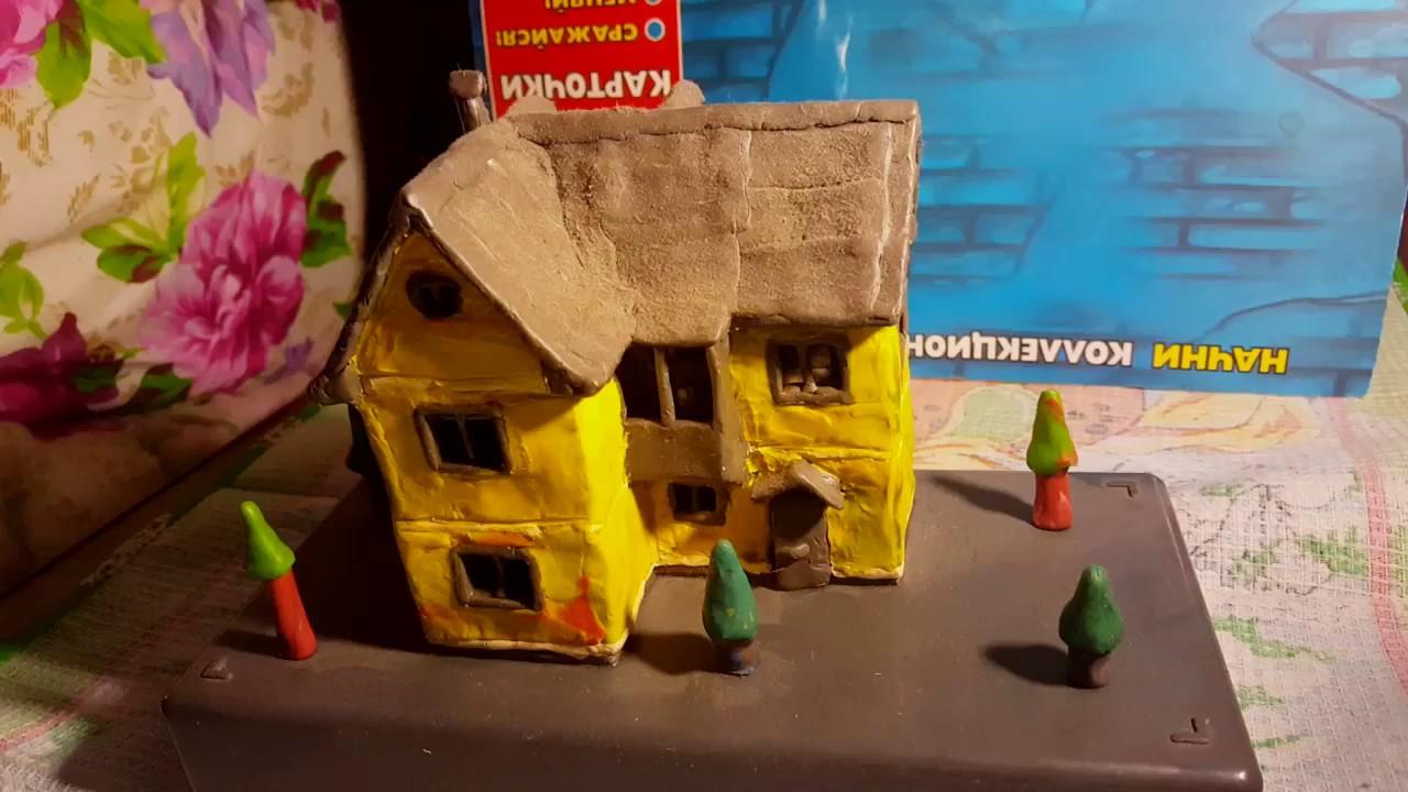 Как сделать из пластилина майнкрафт дом фото 282
