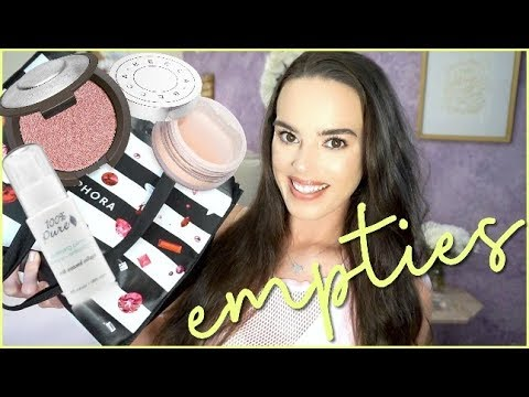 EMPTIES : Beauty Trash + New Products of the Month!
