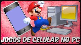 COMO JOGAR JOGOS DE CELULAR/TABLET NO PC (Tutorial)