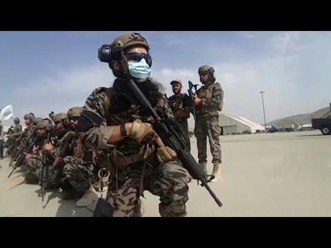 حركة طالبان تحتفل بانتصارها على الولايات المتحدة في أفغانستان | AFP