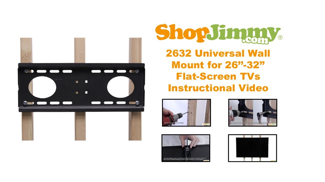 how to hang tv wall mount on wall with studs youtube. Black Bedroom Furniture Sets. Home Design Ideas