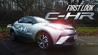 Toyota C-HR 2017/18   HYBRID UK REVIEW Interior Exterior Test Drive - Burrows Motor Company