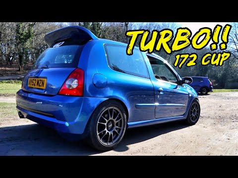 UNREAL! 980KG 311BHP *TURBO RENAULT CLIO 172 CUP*