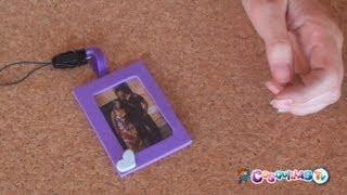 DIY Manualidades: Llavero portafotos