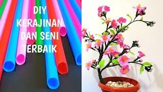 Kerajinan Sedotan DIY | Ide Kerajinan Terbaik |Seni dan Kerajinan DIY | Bunga Cantik Sedotan