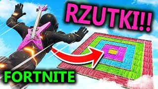 RZUTKI W FORTNITE!!! SUPER ZABAWA!! [GIVEAWAY]
