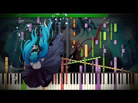 Synthesia: Vocaloid / Hatsune Miku - Deep Sea Girl ~ 深海少女 | 44,000+ Notes | Black MIDI