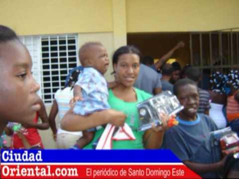 Matilde Franco va a San Luis y San Isidro a llevar juguetes a niños