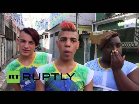 Brazil: Boy Band Whips Up Dance Fever In Rio Favela