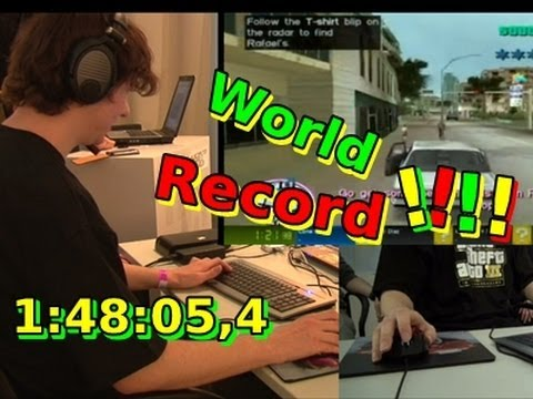 Grand Theft Auto - Vice City - Speedrun - Guinness World Record in 1:48:05,4 [HD]